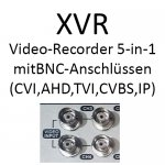 5-in-1 XVR Recorder (CVI/TVI/AHD/Analog/IP)