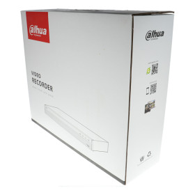 NVR IP-Rekorder DAHUA, 32 Kameras, 12 MP Auflösung, Alarm-Ein-/-ausgang, 2 TB Speicher