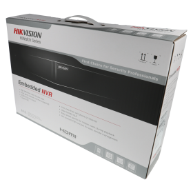 NVR IP-Rekorder HIKVISION, 4 Kameras, 4 MP (2K) Auflösung