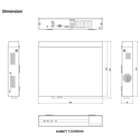 NVR IP-Rekorder HIKVISION, 8 Kameras, 8 MP (4K) Auflösung