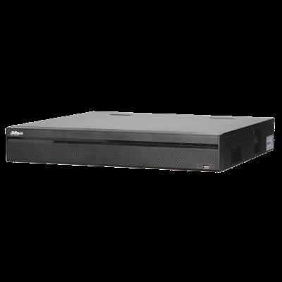 NVR IP-Rekorder DAHUA mit 24 PoE-Ports, 24 Kameras, 12 MP Auflösung