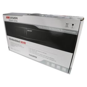 NVR IP-Rekorder HIKVISION mit 8 PoE-Ports, 8 Kameras, 8 MP (4K) Auflösung, 4 TB Speicher