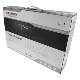 NVR IP-Rekorder HIKVISION, 8 Kameras, 4 MP (2K) Auflösung, ohne Speicher