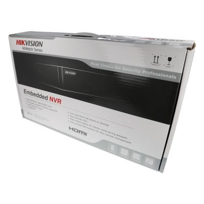 NVR IP-Rekorder HIKVISION, 4 Kameras, 8 MP (4K) Auflösung, 6 TB Speicher