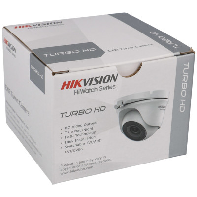 2 MP Dome-Kamera 4-in-1 (CVI, TVI, AHD, Analog) von Hikvision
