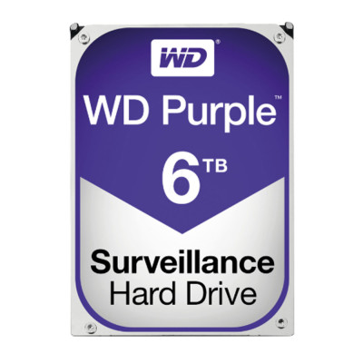 6 TB Festplatte WD Purple