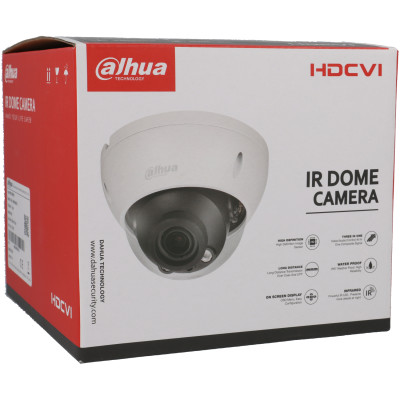 2 MP (Full HD) CVI Mini-Dome-Kamera DAHUA, 30 m Nachtsicht