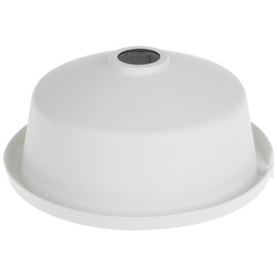 weißer Regenschutz für Outdoor-Dome-Kamera aus Kunststoff HIKVISION