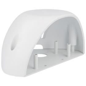 weißes Regenschutzgehäuse für den...