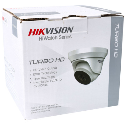 2 MP 4-in-1 (CVI, TVI, AHD, Analog) Mini-Dome-Kamera HIKVISION