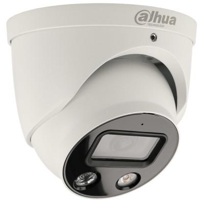 5 MP IP Full-Color-Dome-Kamera DAHUA mit PoE, 30 m Nachtsicht