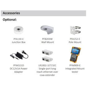 4 MP (2K) IP Mini-Dome-Kamera DAHUA mit PoE, 50 m Nachtsicht