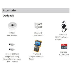 2 MP (Full HD) IP Full-Color-Bullet-Kamera DAHUA, 30 m Nachtsicht