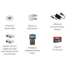 2 MP (Full HD) IP Bullet-Kamera DAHUA mit Starlight, 60 m Nachtsicht