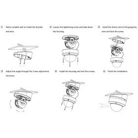 Schräge Deckenhalterung für Dome-Kamera HIKVISION