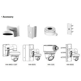 2 MP (Full HD) 4-in-1 (CVI, TVI, AHD, Analog) Dome-Kamera HIKVISION, ColorVu