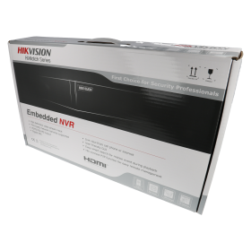 NVR IP-Rekorder HIKVISION, 16 Kameras, 8 MP (4K) Auflösung