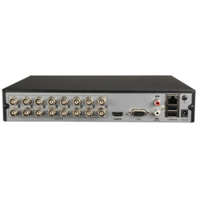XVR-Rekorder SAFIRE, 16 Kanäle, 5-in-1 (CVI/TVI/AHD/Analog/IP), Max. 2 MP Auflösung Ohne Speicher