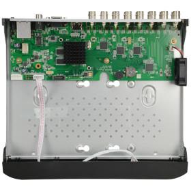 XVR-Rekorder SAFIRE, 16 Kanäle, 5-in-1 (CVI/TVI/AHD/Analog/IP), Max. 2 MP Auflösung 2 TB