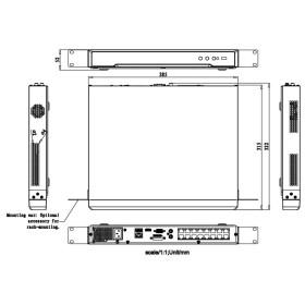 Kopie von NVR IP-Rekorder HIKVISION, 8 Kameras, 8 PoE-Ports, max. 12 MP Auflösung 2 TB